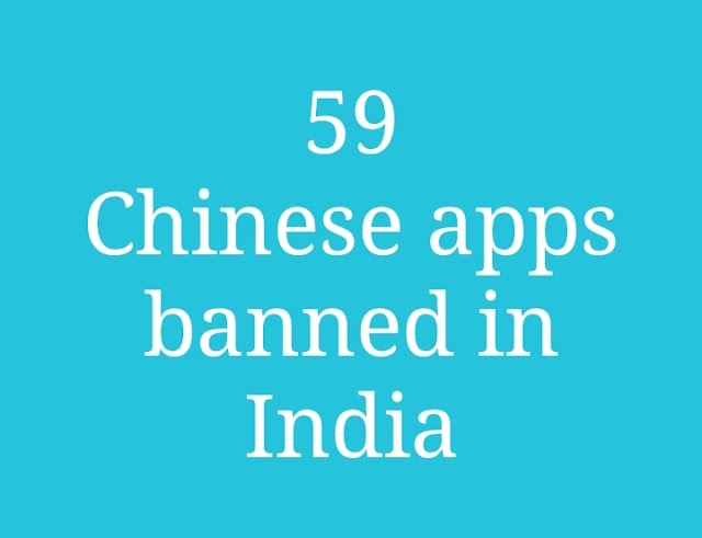 59 Chinese apps are now banned in India including TikTok
