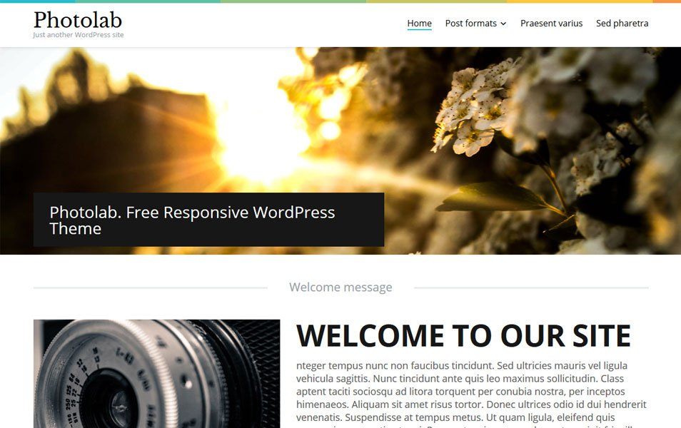 Photolab Responsive WordPress Theme