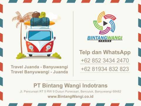 Travel Banyuwangi Bandara Juanda PP