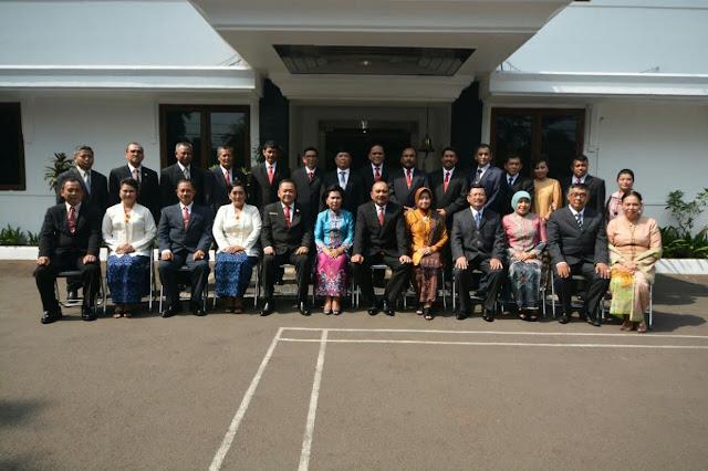 Kepala Bakamla RI Lantik 9 Pejabat Pimpinan Tinggi