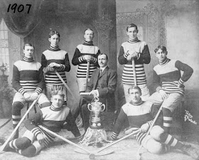 White Ice Hockey team