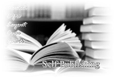 Gambar langkah-langkah menerbitkan buku sendiri secara self publishing