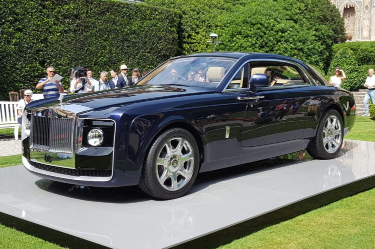 Rolls-Royce Sweptail: $12.8 Million