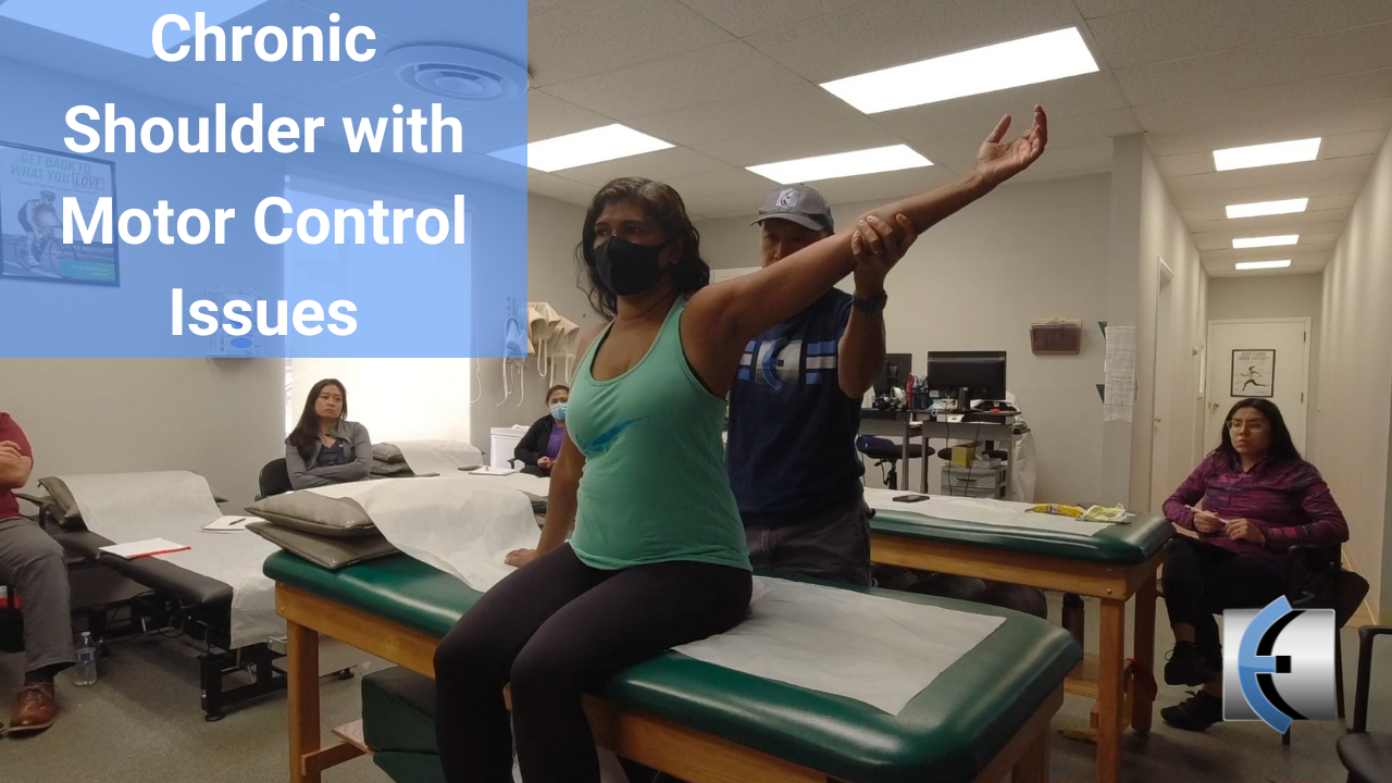 Chronic Shoulder with Motor Control Issues - modernmanualtherapy.com