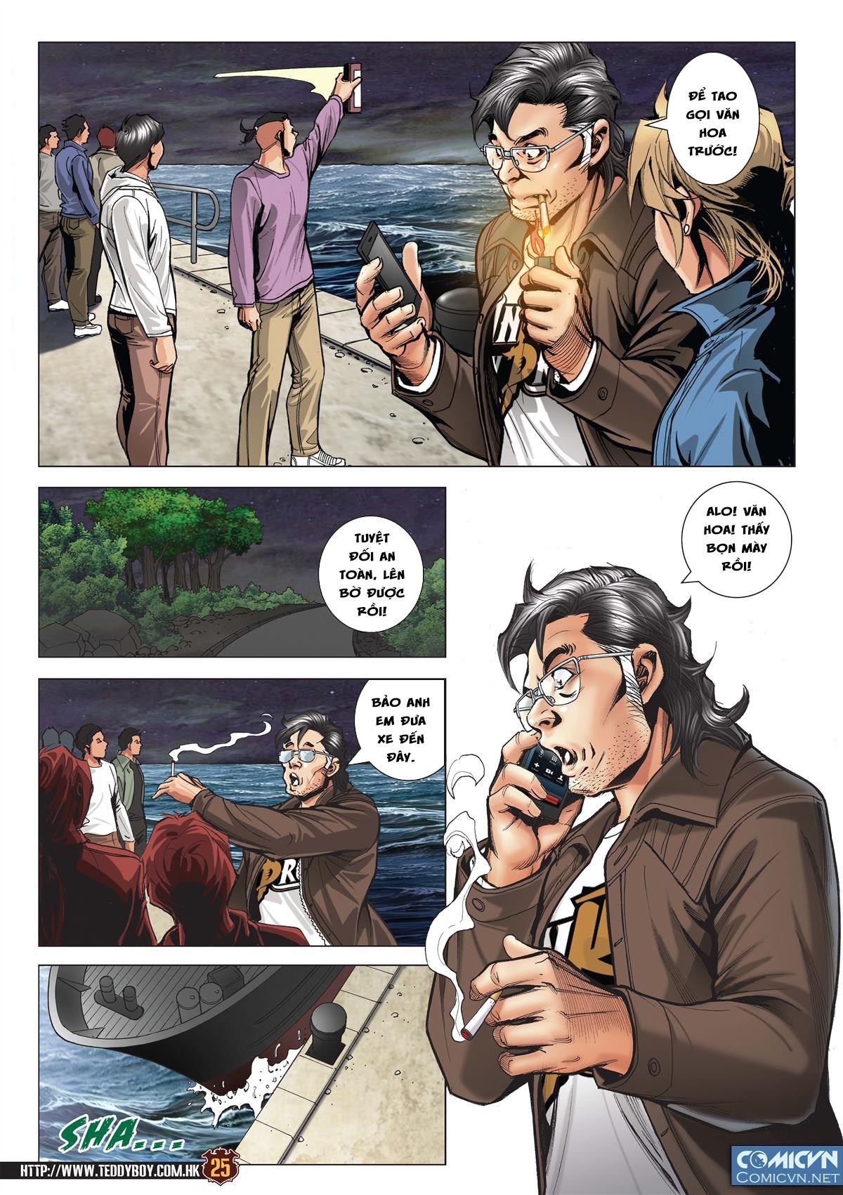 Người Trong Giang Hồ Chap 2095 - Next Chap 2096 image 24