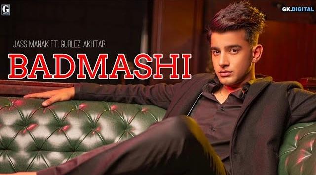 Badmashi Lyrics - Jass Manak | Gurlez Akhtar