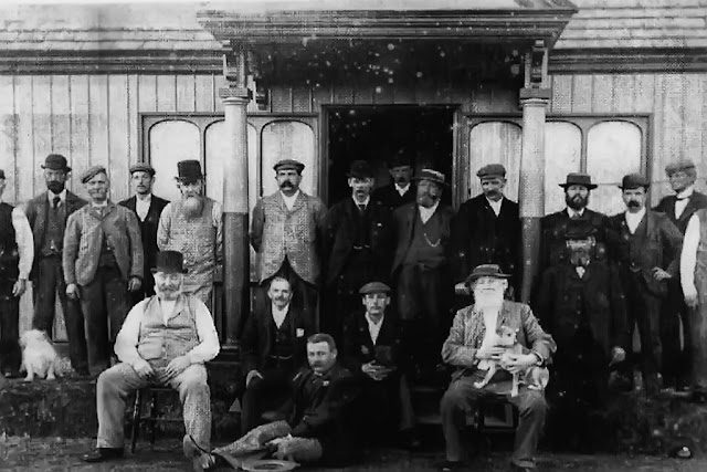 Opening Day Of Crossfield Bowling Club, C1881