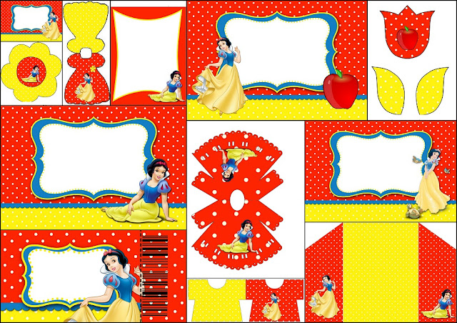 Snow White Free Printable Invitations Labels Or Cards Oh My