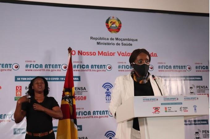 Subiu para 119 o número de casos positivos de covid-19 em Moçambique