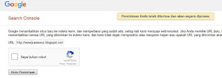 cara memasukan blog ke search engine google