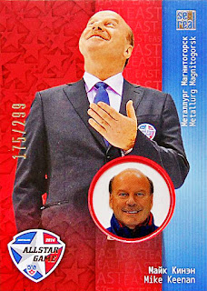 mike keenan khl all-star hockey card