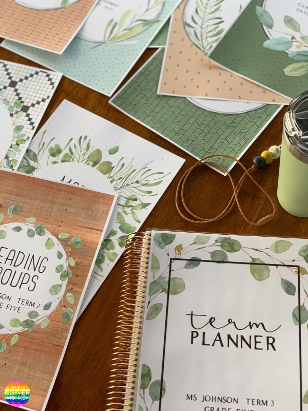 MODERN FARMHOUSE Binder + Book Cover Pack | you clever monkey
