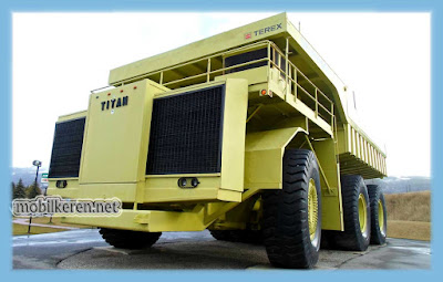 TEREX 33-19 Titan, truk besar, mobil truck terbesar di dunia