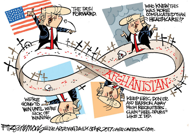 Title:  Trump's Afghanistan Path.