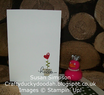 Stampin' Up! UK Independent Demonstrator Susan Simpson, Craftyduckydoodah!, Gift from the Garden, Supplies available 24/7,