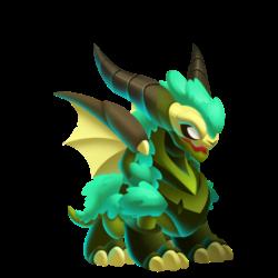 Dragão Elusivo (Jovem)
