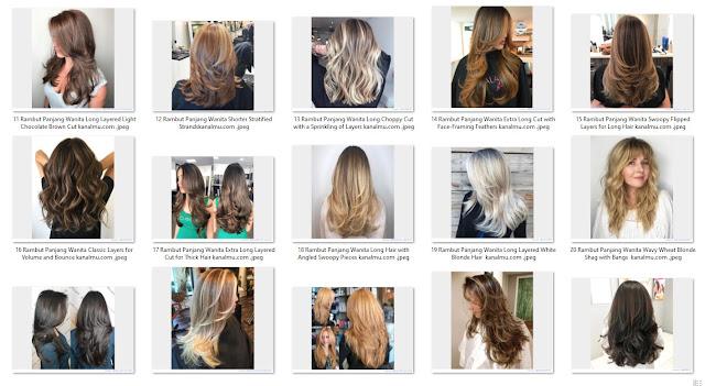 Rambut Panjang Wanita