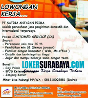Loker Surabaya di PT. Satria Antaran Prima Agustus 2020