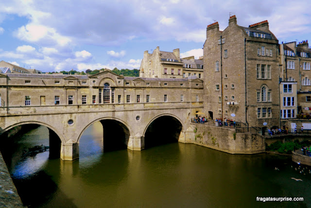 Pulteney Bridge, Bath, Inglaterra
