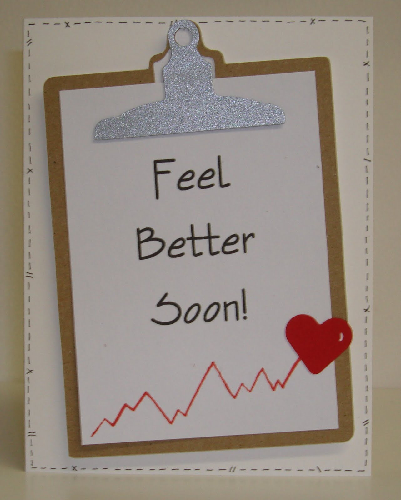 Feel Well Soon Messages: Kelly Creates: Get Well Cards