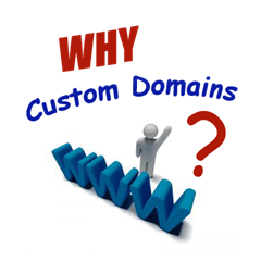 why custom domain