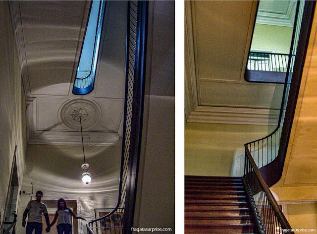 Escadaria de serviço do solar da Quinta da Boa Vista