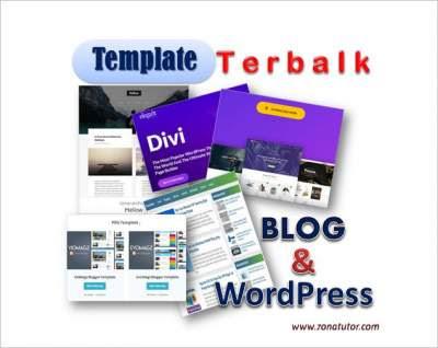 Template Terbaik Untuk Blog WordPress