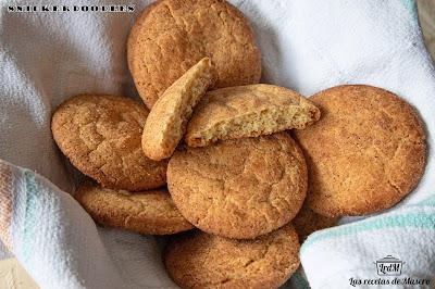 Snickerdoodles (galletas De Azúcar Y Canela)
