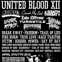 UNITED BLOOD XII LINEUP