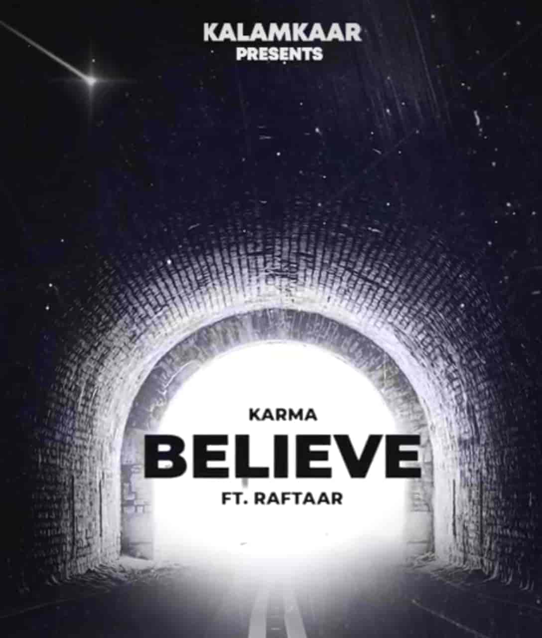 Jo Tu Chahega (Believe) Rap Song Image Features Karma And Raftaar