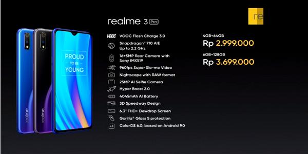 Harga Realme 3 Pro Vs Xiaomi Realme 7 Pro