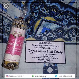 paket souvenir tahlilan | +62 813-2666-1515
