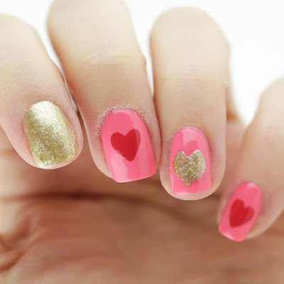 Valentine's perfect nails