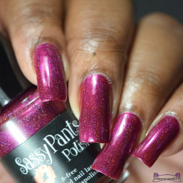 Sassy Pants Polish Crimson Cranberry