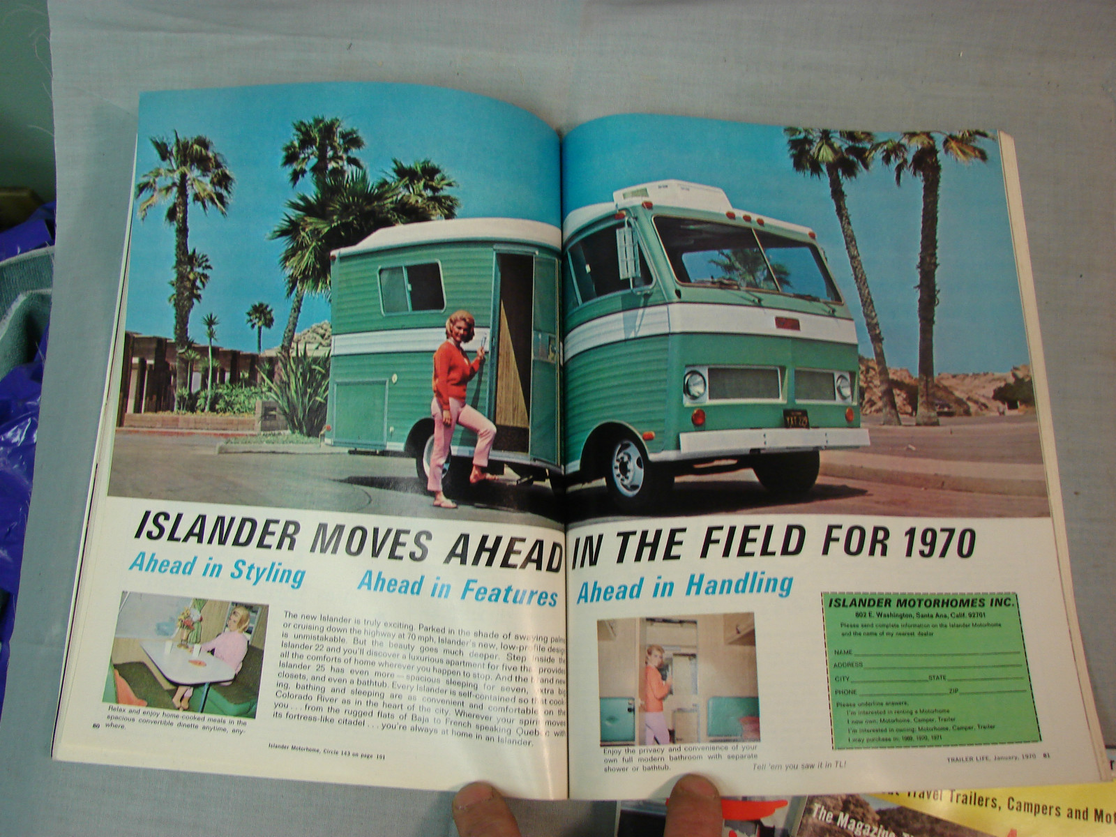keep in mind this is the very early 1970s and motorhomes were everywhere and the love of the rv lifestyle was shared by alot of people even silently in lieu  [ 1600 x 1200 Pixel ]