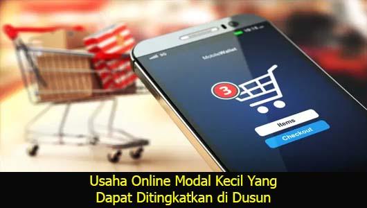 Usaha Online Modal Kecil Yang Dapat Ditingkatkan di Dusun