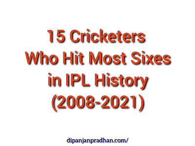15 Cricketers Who Hit Most Sixes in IPL History 2008 to 2021