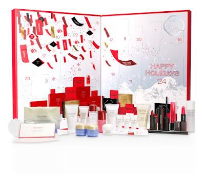 Kalendarz adwentowy Shiseido 2020