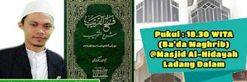 Hadirilah Kajian Kitab Fathul Qorib Tentang Fiqih Islam di Masjid Al-Hidayah Ladang Dalam Tarakan