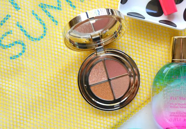 Ombre 4 Couleurs Golden Hour Gradation Eyeshadow Palette