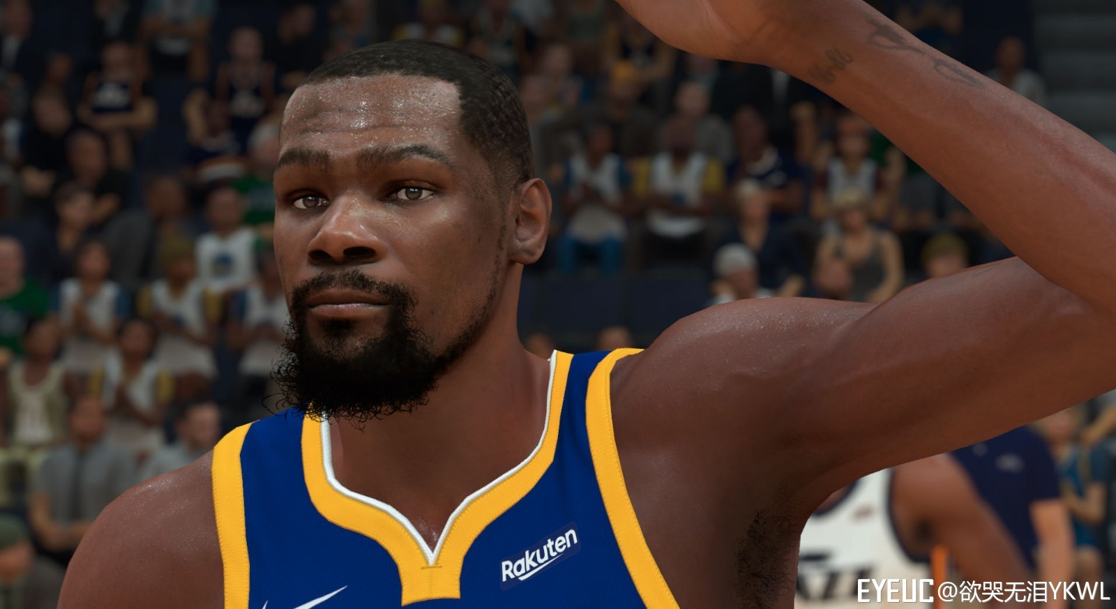 7190c5f62032 NBA 2K19 - Kevin Durant Cyberface by YKWL - Shuajota