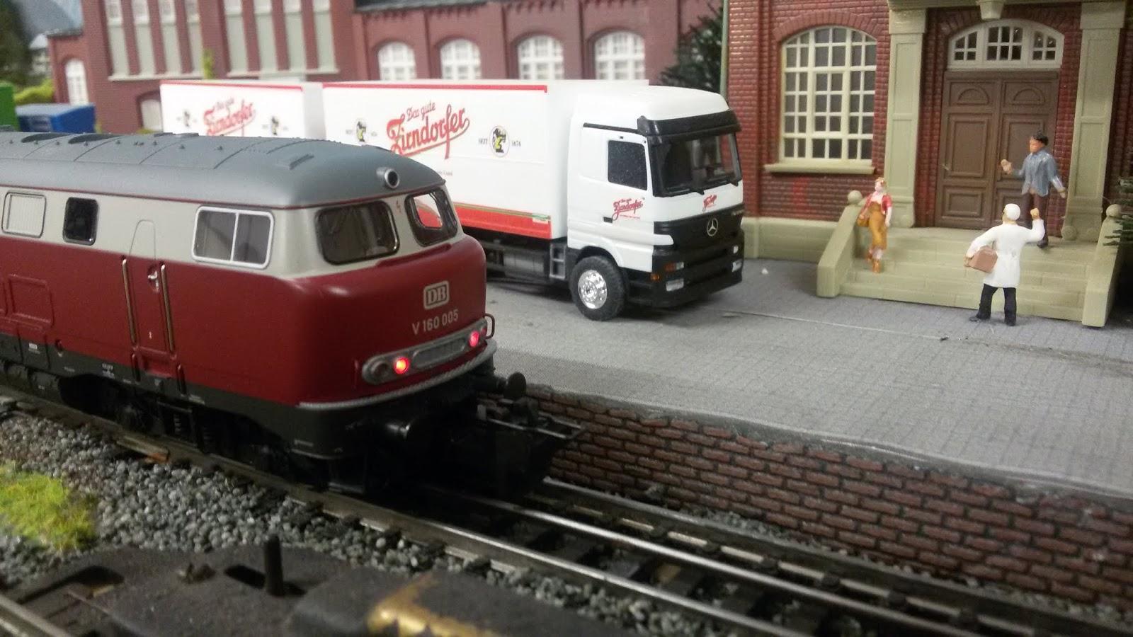 Heute War Wieder Eisenbahn Tag Die Neue Lollo V 160 Hat Erste Probefahrt Hinter Sich Inkl Gerausche Und Der Ruckmelder Funktioniert Auch