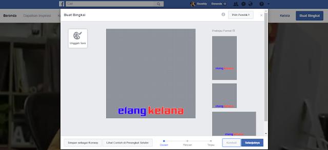 Cara Membuat Bingkai Foto Sendiri di Facebook