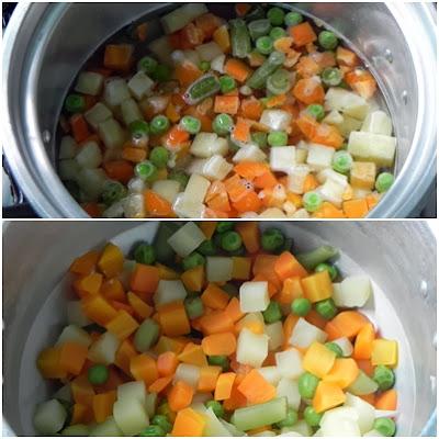 purê de legumes fácil