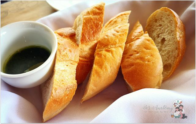 Complimentary Bread from Bursst Grill House by Charaptor at Circuit Makati