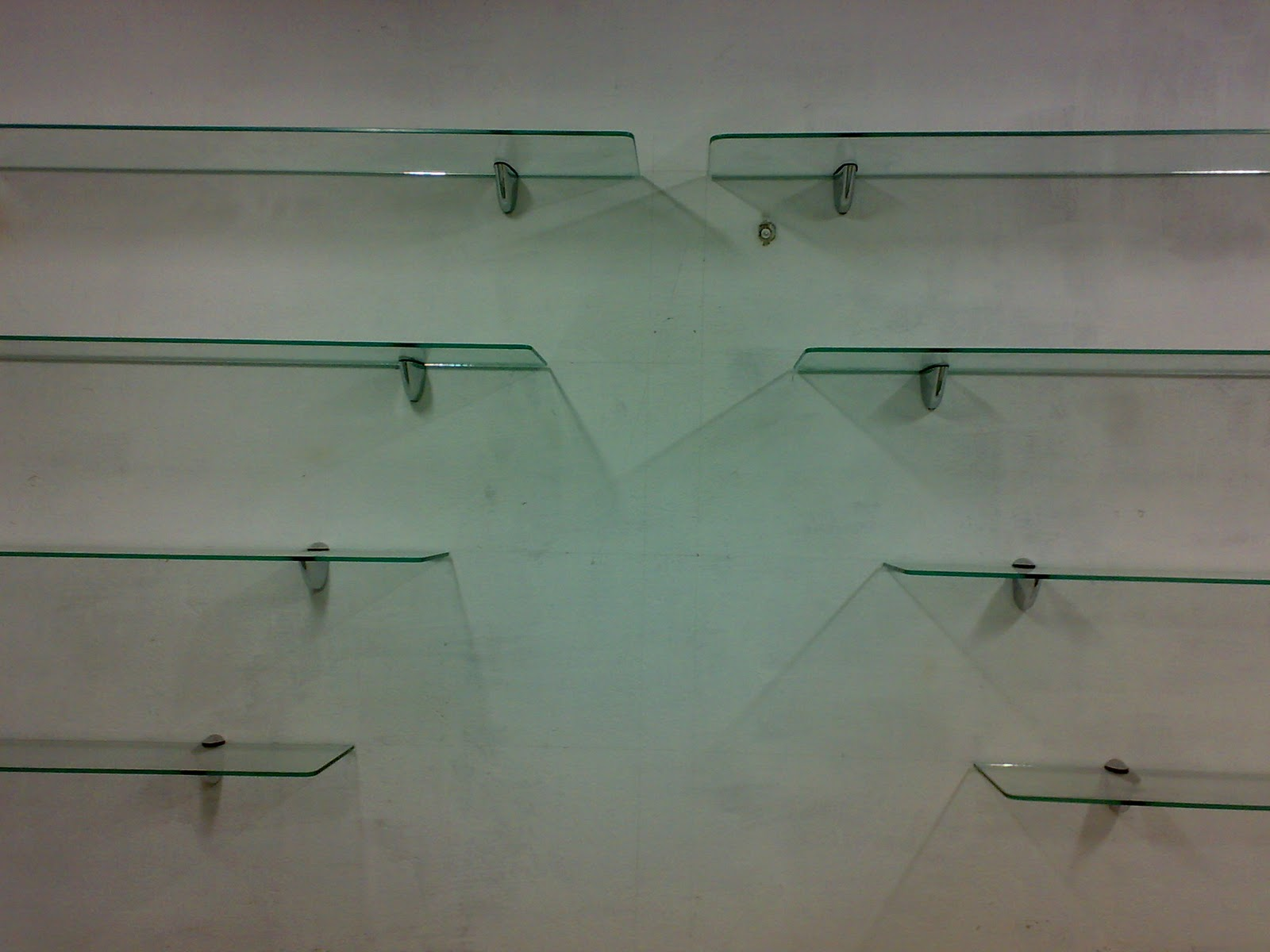 Estante De Vidro Temperado : Vidraçaria vidrotec prateleiras