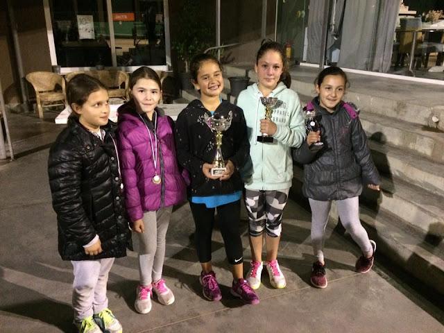 65 συμμετοχές και μια διάκριση στο 9ο Προπαιδικό Ενωσιακό τουρνουά τένις για τον ΡΗΓΑ ΑΟΑΑ