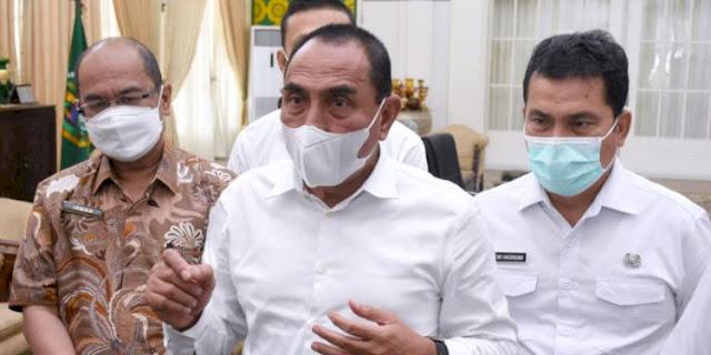 Berkerumunan, Gubernur Sumut Suruh Pulang Peserta KLB Sibolangit