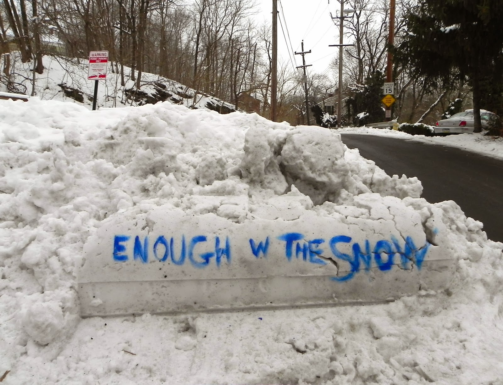 new hope pa more funny snow art