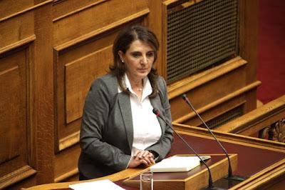 Στην Θεσπρωτία την Παρασκευή η υφυπουργός Αγροτικής Ανάπτυξης Τελιγιορίδου Ολυμπία
